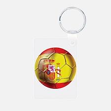 Spanish Futbol Keychains