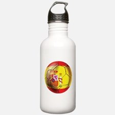 Spanish Futbol Water Bottle
