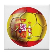 Spanish Futbol Tile Coaster