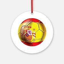 Spanish Futbol Ornament (Round)