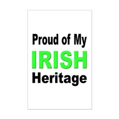 Proud Irish Heritage Posters