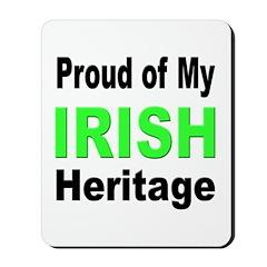 Proud Irish Heritage Mousepad