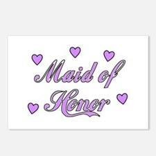 Maid Of Honor Postcards (Package of 8)