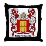Chorongwie Coat of Arms Throw Pillow