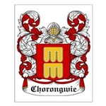 Chorongwie Coat of Arms Small Poster