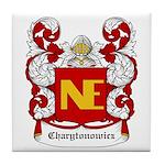 Charytonowicz Coat of Arms Tile Coaster