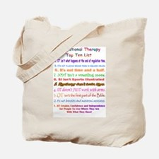 Unique Occupational therapist Tote Bag
