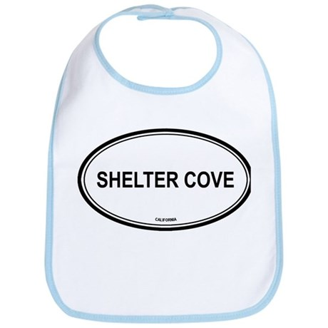 Shelter Cove oval Bib