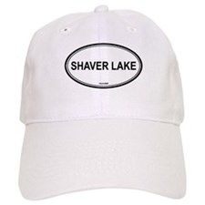 Shaver Lake oval Baseball Cap