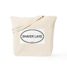 Shaver Lake oval Tote Bag