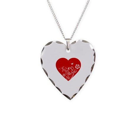 Heart Necklace Heart Charm