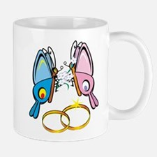Marriage Butterflies Mug