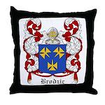 Brodiz Coat of Arms Throw Pillow