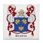 Brodiz Coat of Arms Tile Coaster