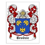 Brodiz Coat of Arms Small Poster