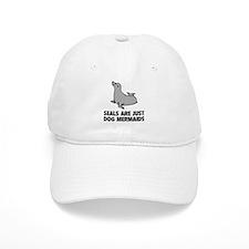 Dog Mermaids Baseball Cap
