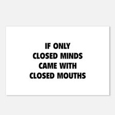 Closed Minds Postcards (Package of 8)