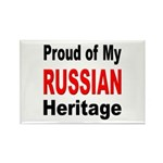 Proud Russian Heritage Rectangle Magnet