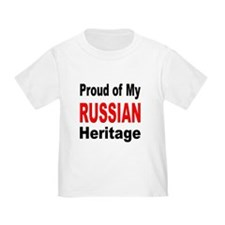 Proud Russian Heritage T