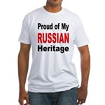 Proud Russian Heritage Fitted T-Shirt