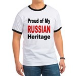 Proud Russian Heritage (Front) Ringer T