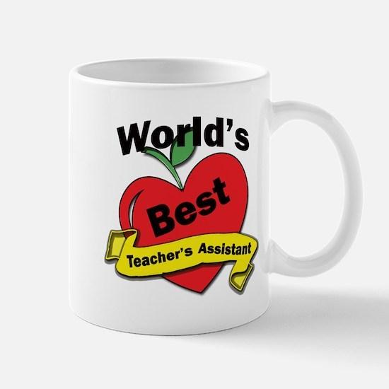 Worlds Best Teachers Assistant Mugs