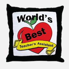 Funny School administrator Throw Pillow
