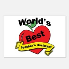 Unique Assistant teacher Postcards (Package of 8)