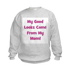Godo Looks From Mom - Pink Sweatshirt
