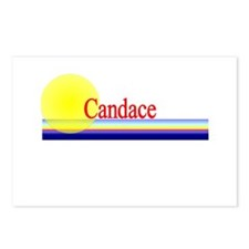 Candace Postcards (Package of 8)