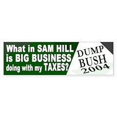 Big Business Ate My Taxes Bumper Bumper Sticker