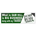 Big Business Ate My Taxes Bumper Sticker