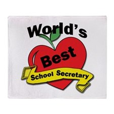 Unique School secretaries Throw Blanket