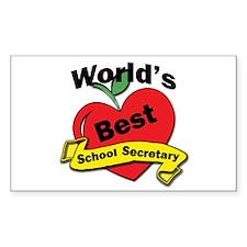 Unique Worlds greatest secretary Decal