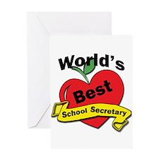 Funny School secretaries Greeting Card