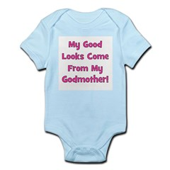 Good Looks from Godmother - P Infant Creeper