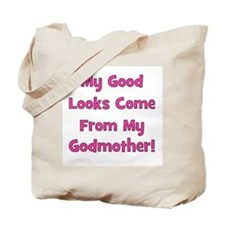 Good Looks from Godmother - P Tote Bag