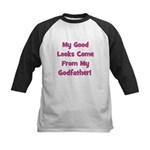 Good Looks from Godfather - P Kids Baseball Jersey