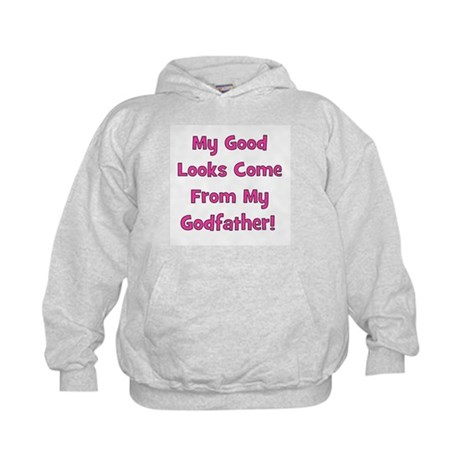Good Looks from Godfather - P Kids Hoodie