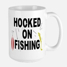 Hooked On Fishing Mug