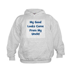 Good Looks From Uncle - Blue Hoodie