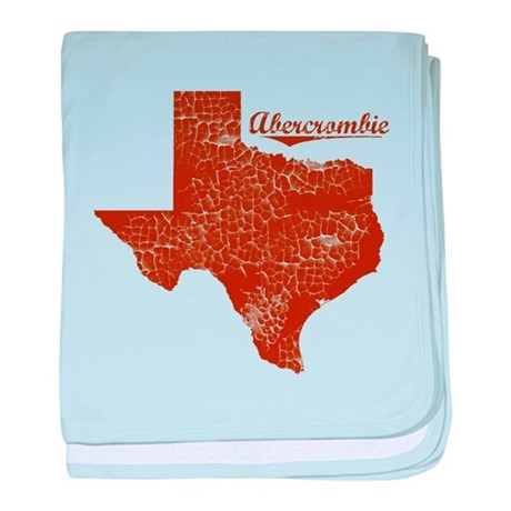Abercrombie, Texas (Search Any City!) baby blanket