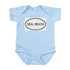 Seal Beach oval Infant Creeper