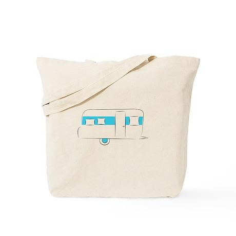vintage camper Tote Bag