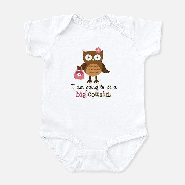 Big Cousin to be - Mod Owl Infant Bodysuit