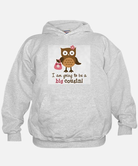 Big Cousin to be - Mod Owl Hoodie