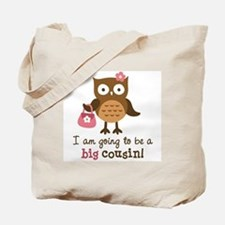 Big Cousin to be - Mod Owl Tote Bag