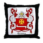 Brama Coat of Arms Throw Pillow