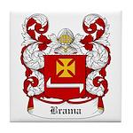 Brama Coat of Arms Tile Coaster