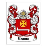 Brama Coat of Arms Small Poster